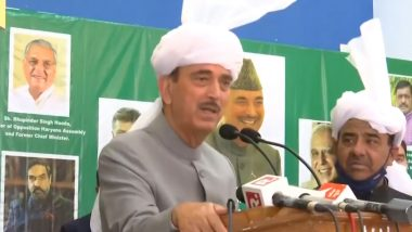 Ghulam Nabi Azad Praises PM Narendra Modi, Says Prime Minister is Connected to Roots (Watch Video)