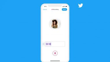Twitter Voice DMs Feature Being Rolled Out in India, Brazil & Japan; Here's How It Works