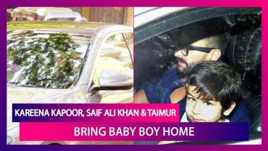 Kareena Kapoor, Saif Ali Khan & Taimur Bring Baby Boy Home; Little Boy Seen Sleeping In Nanny's Arms
