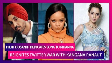 Diljit Dosanjh Dedicates Song To Rihanna, Know What Lyrics Mean; Singer Reignites Twitter War With Kangana Ranaut