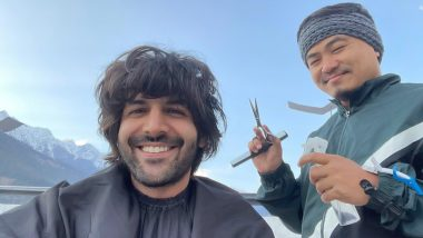 Kartik Aaryan Shows Off His New Haircut in the Most Dramatic 'Game of Thrones' Manner (Watch Video)