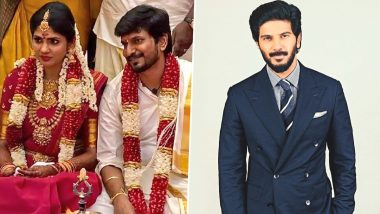 Desingh Periyasamy And Niranjani Ahathian Tie The Knot In Puducherry! Dulquer Salmaan Wishes Kannum Kannum Kollaiyadithaal Duo 'The Happiest Of Marital Life' (View Wedding Pics)