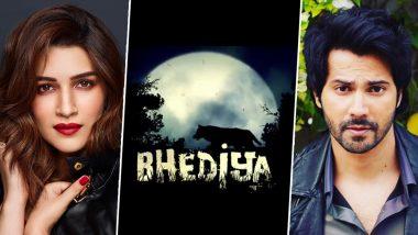 Bhediya: Varun Dhawan and Kriti Sanon's Horror-Comedy To Release on April 14, 2022