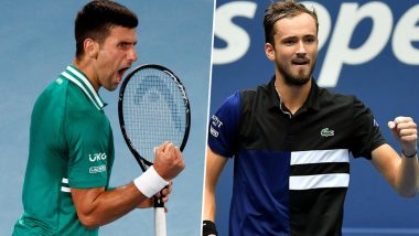 Novak Djokovic vs Daniil Medvedev, Australian Open 2021 Final Free Live Streaming Online: How To Watch Live Telecast of Aus Open Men's Singles Tennis Match?