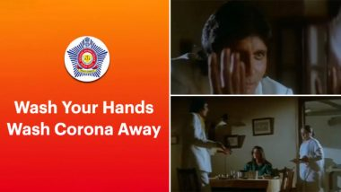 Mumbai Police Takes The Agneepath Way To Ask Citizens To Wash Hands As COVID-19 Cases Increase In The City (Watch Video)