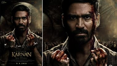 Karnan First Look: Dhanush's Film To Release In Theatres On April 9! Actor Is Handcuffed And Wounded In This New Poster