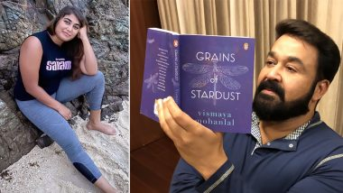 Mohanlal Is Proud To See His Daughter Vismaya Mohanlal's Book 'Grains Of Stardust' Already A Bestseller!
