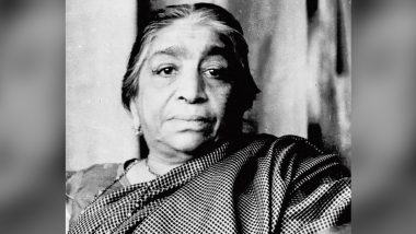 Sarojini Naidu 142nd Birth Anniversary: Twitterati Share National Women's Day Images and Inspiring Quotes Remembering the 'Nightingale of India'