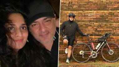 Fans Can't Keep Calm After Thala Ajith's Pics Of Cycling And Then His Selfie With Wife Shalini Surface Online