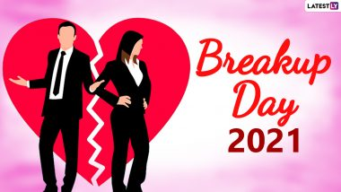 Breakup Day 2021 Messages and HD Images: Share Breakup Quotes, Telegram Photos, GIFs & Heart Break Singal Pics To Observe the Last Day of Anti-Valentine Week