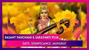 Saraswati Puja and Basant Panchami 2021: Date, Significance, Shubh Muhurat And Puja Vidhi