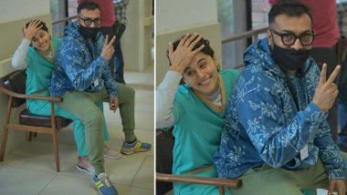Dobaaraa: Taapsee Pannu Begins Filming for Anurag Kashyap's Next, Actress Shares BTS Pic from the Film Sets