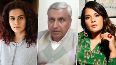 Taapsee Pannu And Richa Chadha Express Their Disappointment At Haryana Agriculture Minister Jai Parkash Dalal's Comment On Farmers' Death