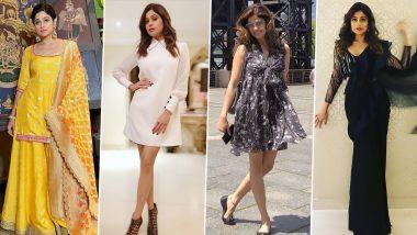 Shamita Shetty Birthday Special: 7 Times the Black Widows Actress Displayed Her Strong Fashion Skills (View Pics)