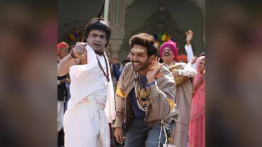 Bhool Bhulaiyaa 2: Kartik Aaryan Confirms the Release Date of the Film With a Hilarious Still Featuring Rajpal Yadav