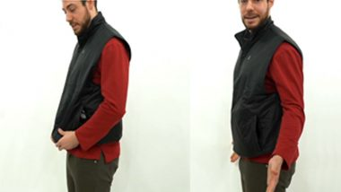 LUMACAREA, a Multipurpose Vest That Combined a Storage and a Heating Vest, Has Been Launched