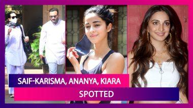 Saif Ali Khan, Karisma Kapoor, Ananya Panday, Kiara Advani, Nagarjuna, Neha Kakkar & Rohanpreet Singh Among Others Spotted