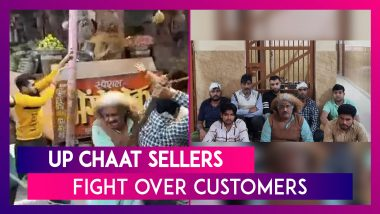Ozzy Man Reviews Video: Hilarious Commentary on Chaotic Fight of Baghpat Chaat Vendors Staring 'Einstein Chacha'