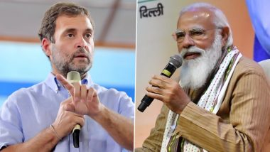 IANS C Voter Opinion Poll: Rahul Gandhi Preferred As Prime Minister Over Narendra Modi in Kerala And Tamil Nadu Ahead of Assembly Elections 2021