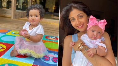 Shilpa Shetty Celebrates Daughter Samisha's First Birthday by Sharing a Super Adorable Video in Which She Says 'Mumma' – WATCH