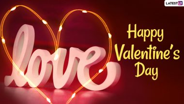 Happy Valentine's Day 2021 Greetings & HD Images: WhatsApp Messages, GIFs, Romantic Quotes, Sweet Wishes for Him and Her To Send on February 14