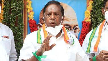 Puducherry Trust Vote: V Narayansamy-Led Government Loses Majority in 33-Member Assembly