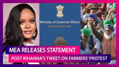 Rihanna's Tweet On Farmer Protests Leads To MEA Releasing A Statement: Dr Jaishankar, Amit Shah, Congress & More Political Reactions