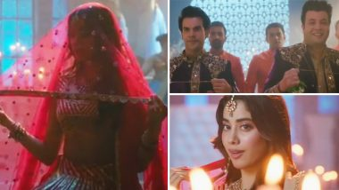 Roohi Song Panghat Teaser: Bride Janhvi Kapoor Waiting For Her Grooms Rajkummar Rao And Varun Sharma Is A Perfect Tease For Monday (Watch Video)
