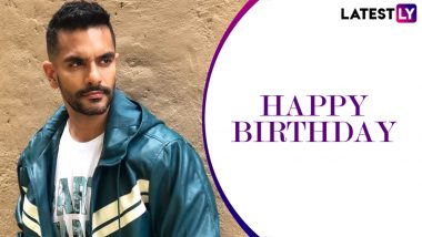 Angad Bedi Birthday: From Party-Wear To Street Style, 7 Times The Bollywood Hunk Left Us Impressed With His Choice Of Ensembles (View Pics)