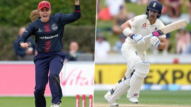 England Men's and Women's Cricketers Involved in Ugly Spat on Twitter After 10-Wicket Defeat to India in Day-Night Test
