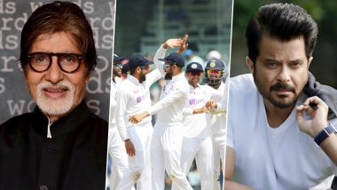 India vs England 2nd Test: Amitabh Bachchan, Anil Kapoor Laud Team India's Emphatic Win Against England