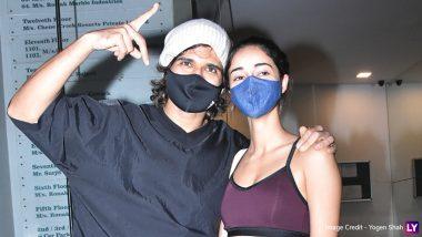 Liger Stars Vijay Deverakonda And Ananya Panday Happily Pose For The Shutterbugs! (View Pics)