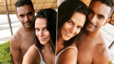 Neha Dhupia Wishes Hubby Angad Bedi On His Birthday With Their Romantic Pics From The Beach!