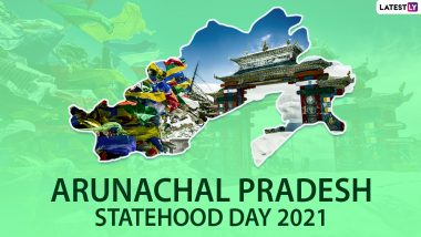 Arunachal Pradesh Statehood Day 2021 Messages, Greetings & HD Images: Share Wishes, WhatsApp Stickers, Telegram Photos and GIFs to Wish the Foundation Day of AP