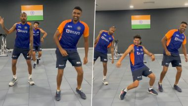 Ravi Ashwin, Hardik Pandya and Kuldeep Yadav Groove to Popular Song 'Vaathi Coming' From Tamil Movie Master (Watch Video)