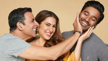Atrangi Re: Akshay Kumar, Sara Ali Khan and Dhanush's Flick To Release on August 6 in Theatres!
