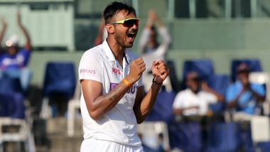Wasim Jaffer, Delhi Capitals & Other Netizens Praise Axar Patel For Scalping Four Wickets in First Innings During IND vs ENG 4th Test 2021, Day 1 (Check Reactions)