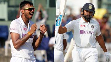 IND vs ENG Day-Night Test 2021: Twitterati Praise Axar Patel, Rohit Sharma; Troll Ben Stokes