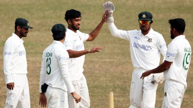 Bangladesh vs West Indies 1st Test 2021 Live Streaming Online and Match Timings in India: Get BAN vs WI Match Free TV Channel and Live Telecast Details