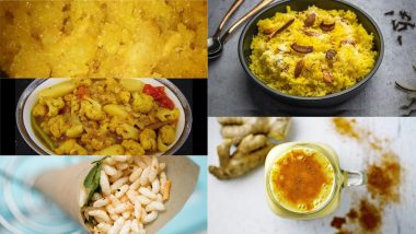 Basant Panchami 2021 Food Guide: From Sweet Saffron Rice to Turmeric Ber Fruit Smoothie, 5 Tasty Recipes To Try at Home