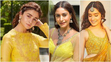 Basant Panchami 2021 Fashion: Wear Traditional Outfits in Yellow Colour To Celebrate Saraswati Puja