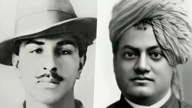 AI Images of Bhagat Singh, Swami Vivekananda, Kasturba Gandhi, Sri Aurobindo & Other India's Freedom Fighers Startle Netizens! Viral Twitter Thread Will Give You Goosebumps