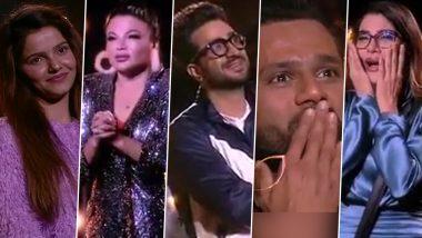 Bigg Boss 14: Rubina Dilaik, Rakhi Sawant, Aly Goni, Rahul Vaidya, Nikki Tamboli Get Teary-Eyed After Seeing Their Journey on the Reality Show (Watch Video)
