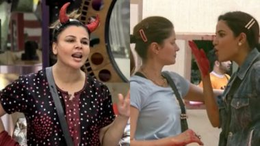 Bigg Boss 14 Epic Fights: From Rakhi Sawant's 'Nose' Drama to Rubina Dilaik, Jasmin Bhasin's 'Ugly' Chaos – 5 Nasty Brawls From the Season