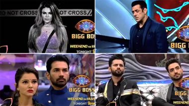 Bigg Boss 14: Salman Khan Schools Rakhi Sawant for Her Nasty Entertainment, Asks Her To Quit the Show (Watch Video)