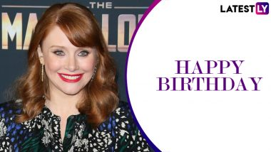 Bryce Dallas Howard Birthday Special: From Pete's Dragon to The Village, 5 Popular Roles of the Actress You Should Not Miss!