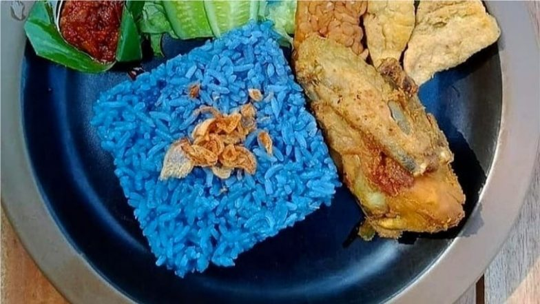 Just 8 Photos of Blue Rice or Nasi Kerabu, Instagram's Latest Food Fad