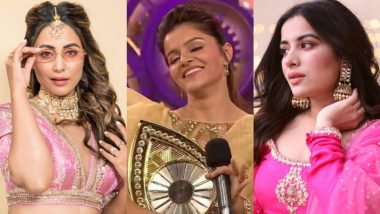Rubina Dilaik Wins Bigg Boss 14: Hina Khan, Sara Gurpal and Others Shower Congratulations On Her Victory!