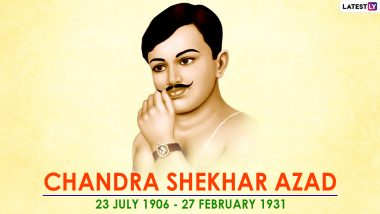 Chandra Shekhar Azad 90th Death Anniversary: People Took to Twitter to Pay Tribute to India's Fearless Freedom Fighter With Pics & Patriotic Quotes on His Punyatithi