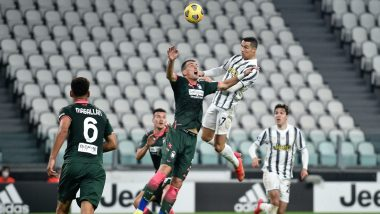 Cristiano Ronaldo Scores A Brace as Juventus Beats Crotone 3-0 in Serie A